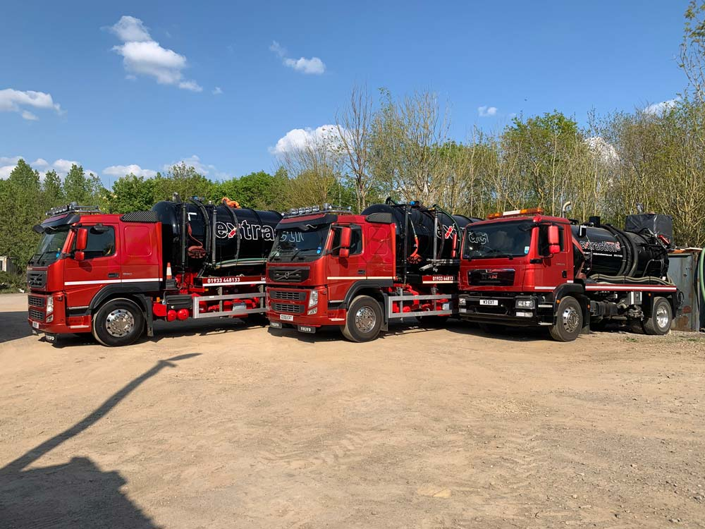 Extraction Services Vehicles